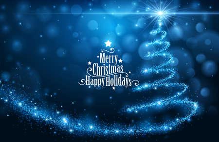 Illustration pour Christmas card - image libre de droit