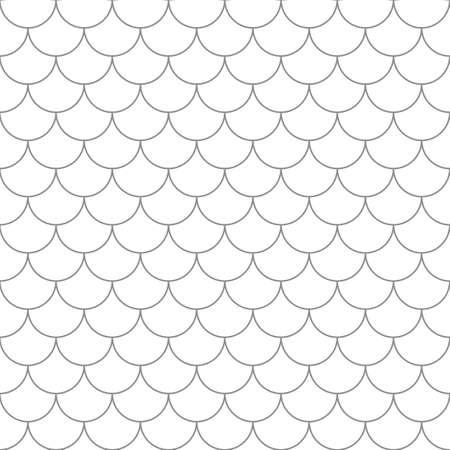 Ilustración de Seamless pattern with fish scales. Simple seamless background in vector. - Imagen libre de derechos