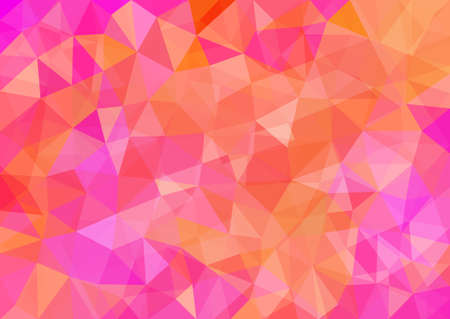 Illustration pour Abstract Polygonal Background. Modern Geometric Vector Illustration. - image libre de droit