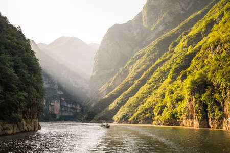 Photo for Yangzi river (Long river) in China - Royalty Free Image