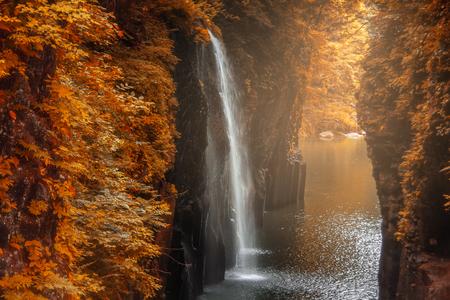 Photo for Takachiho gorge at Miyazaki , Japan - Royalty Free Image