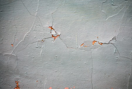 Photo for White Peeling Paint Concrete Wall Texture Background Suitable for Presentation and Web Templates with Space for Text. - Royalty Free Image