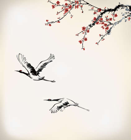 Illustration pour winter sweet frame - image libre de droit