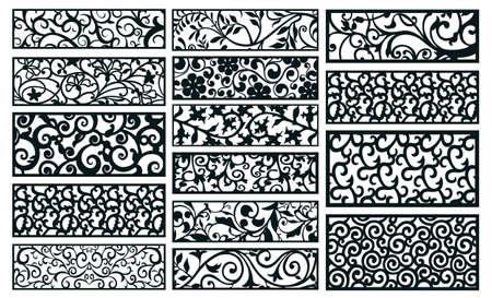 Ilustración de decor pattern collections - Imagen libre de derechos