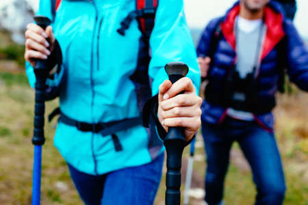 Photo for Nordic walking - Royalty Free Image