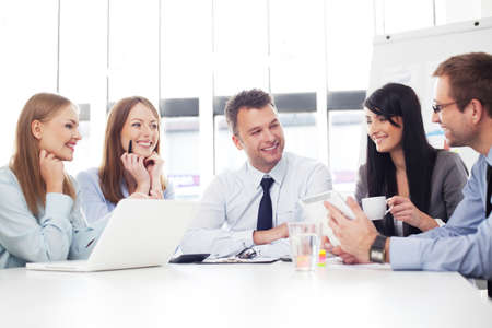 Photo for Group of business people working - Royalty Free Image