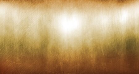 Photo for Old sheet of copper  scratched - Royalty Free Image