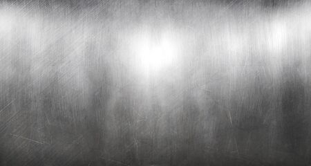 Photo for Old sheet of metal scratched - Royalty Free Image