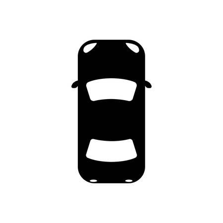 Ilustración de Icon car, view from above. - Imagen libre de derechos