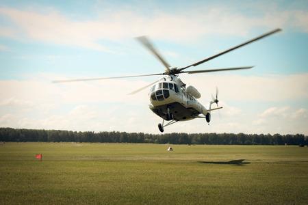 Foto de helicopter - Imagen libre de derechos