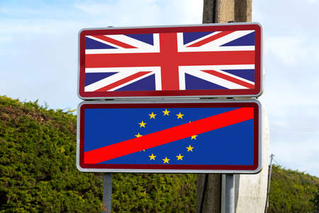 Photo for A sign on the Brexit - Royalty Free Image