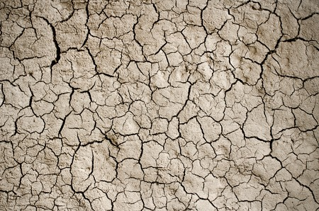 Photo pour Dry cracked earth background, clay desert texture. - image libre de droit