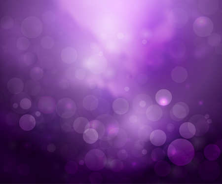 Ilustración de Purple lights background fantasy bokeh on white - Imagen libre de derechos