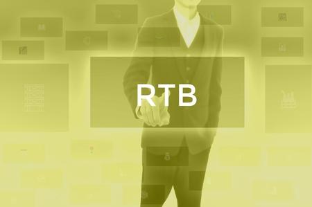 Foto de Real Time Bidding - business concept - Imagen libre de derechos