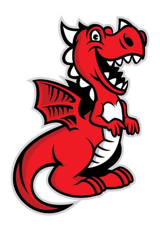 Illustration pour cute dragon - image libre de droit