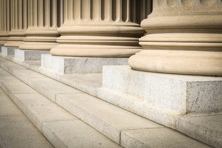 Photo for Pillars and Steps - Royalty Free Image