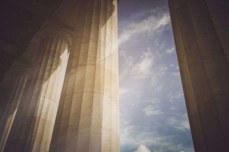 Photo for Pillars with Vintage - Royalty Free Image