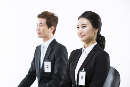 Motivated Young Asian Job Seekers