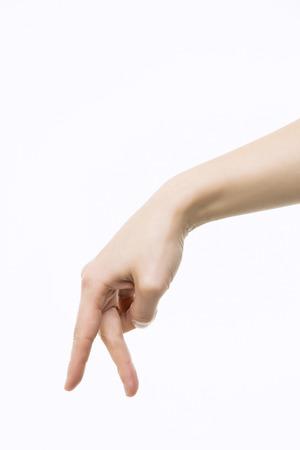 Photo pour Hand Close-Up - image libre de droit