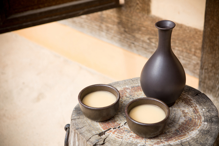 Photo for the Korean traditional drinks - rice wine, Makgeolli and others. 173 - Royalty Free Image