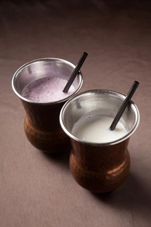 Photo for Yogurt made of cow milk, Lassi - Royalty Free Image