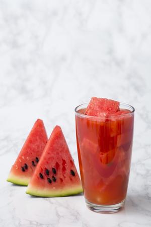 Photo pour Delicious summer fruits object photo, tomato, oriental melon and watermelon - image libre de droit