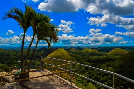 Photo pour The stunning Chocolate Hills of Bohol, Philippines - image libre de droit