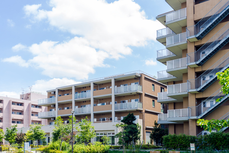 Photo for Apartment building in Japan - Royalty Free Image