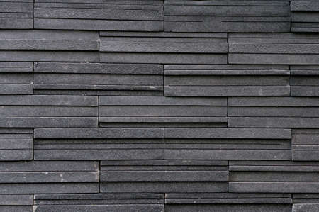 Dark stone tile texture brick wall surfaced