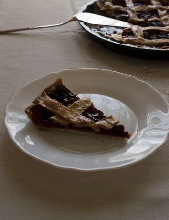 Photo pour cherry pie - image libre de droit