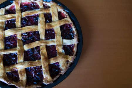 Photo pour cherry cake - image libre de droit