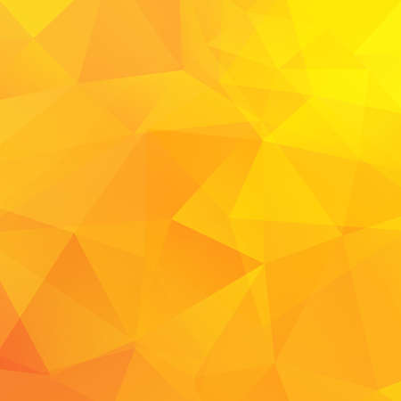 Ilustración de Abstract yellow triangles background. Vector illustration - Imagen libre de derechos