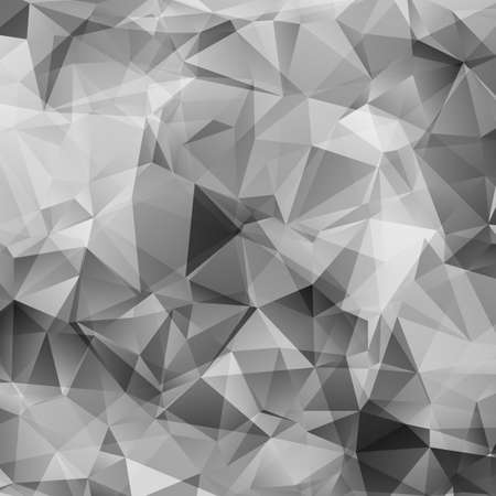 Illustration pour Abstract gray triangles vector background - image libre de droit