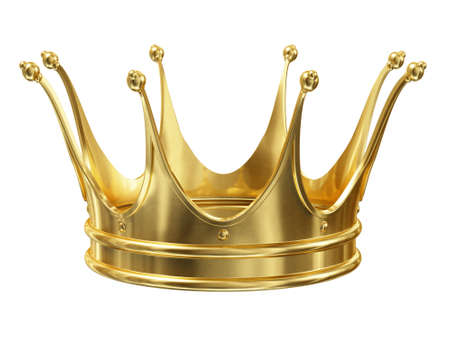 Photo pour Gold crown - image libre de droit