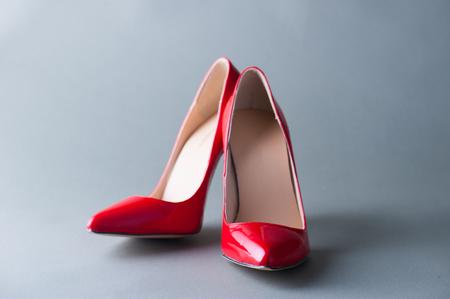Foto de Red high heels - Imagen libre de derechos