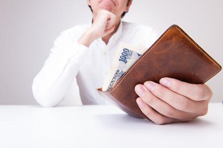 Wallet and men