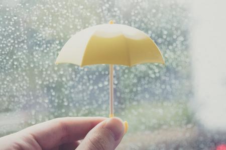 Rainy day, umbrella