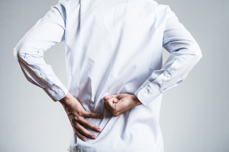 Photo for Male, low back pain - Royalty Free Image