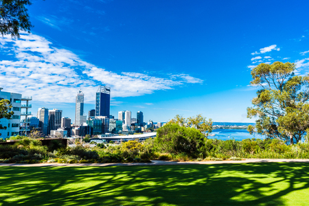 Foto de Kings Park and Perth city - Imagen libre de derechos