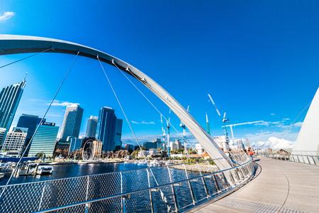 Photo for Urban landscape of Perth Australia - Royalty Free Image