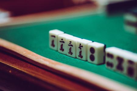 Photo pour Mahjong - image libre de droit
