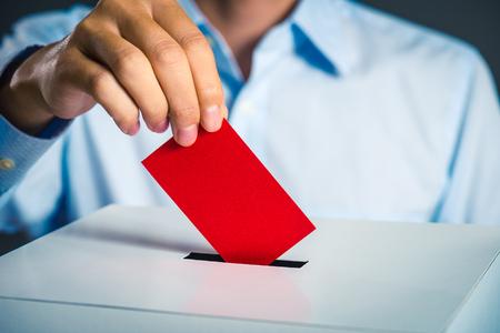 Foto de Voting box and election image - Imagen libre de derechos