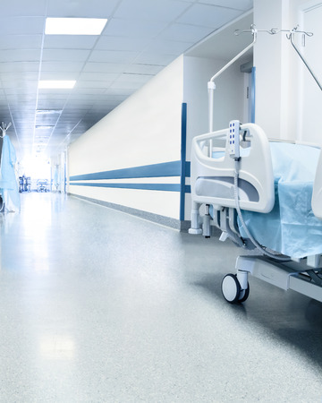 Photo for Surgical bed in hospital - Royalty Free Image