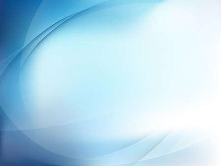 Illustration pour Blue Light Wave Abstract Background.  - image libre de droit