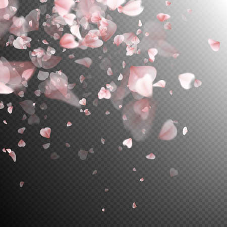 Illustration for Pink petals background. EPS 10 vector file included - Royalty Free Image