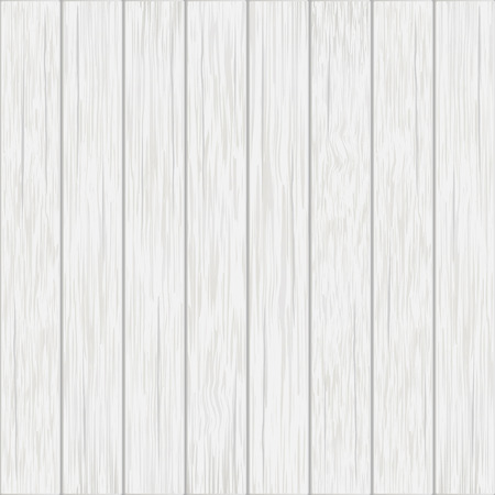 Ilustración de white wood boards - vector background - Imagen libre de derechos