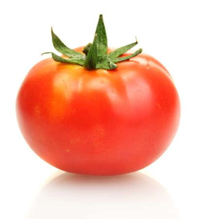 Photo pour tomato isolated on white - image libre de droit