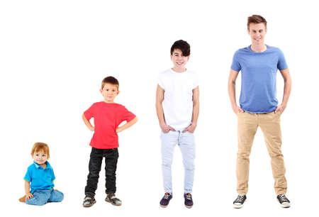 Photo pour Concept of growing up - image libre de droit