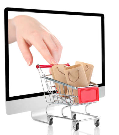 Foto de Online shopping concept - Imagen libre de derechos