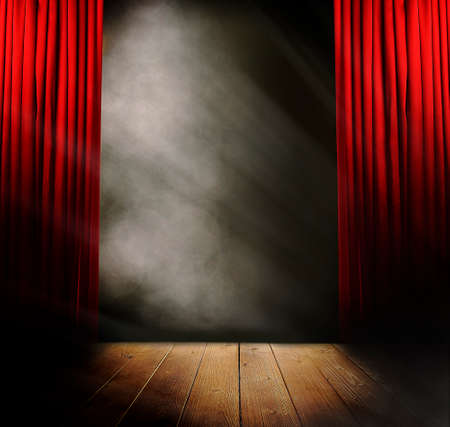 Photo for Empty stage before concert - Royalty Free Image